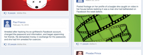 20 Cases Solved By Using Facebook