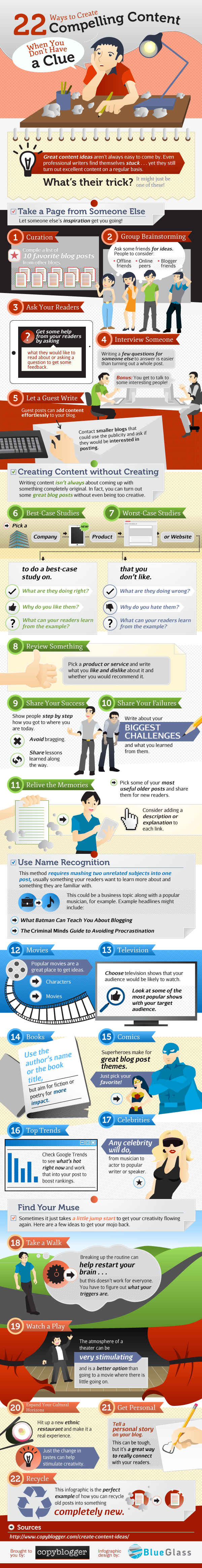 Ways To Create Compelling Content-infographic