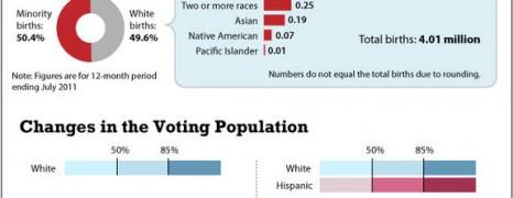 Historic Shift In US Demographics