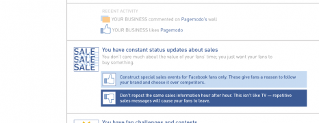 What Your Facebook Page Says About Your Business