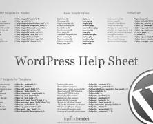 WordPress Help Sheet