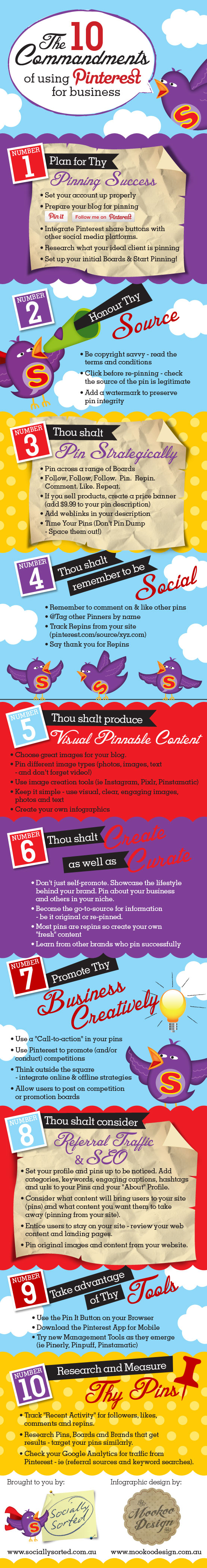 10-Commandments-Of-Pinterest-For-Business-infographic