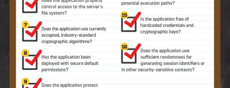 Web Applications Security Cheat Sheet