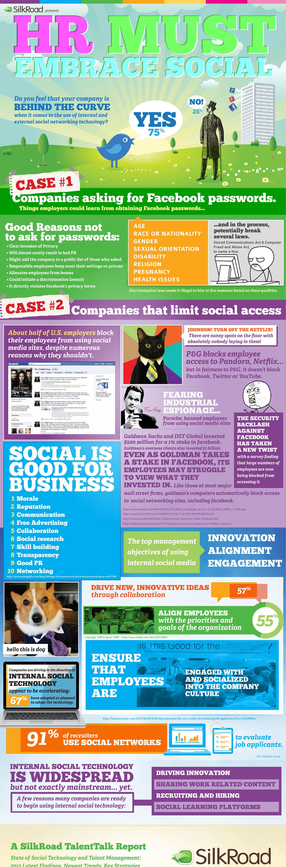 HR block social mediainfographic