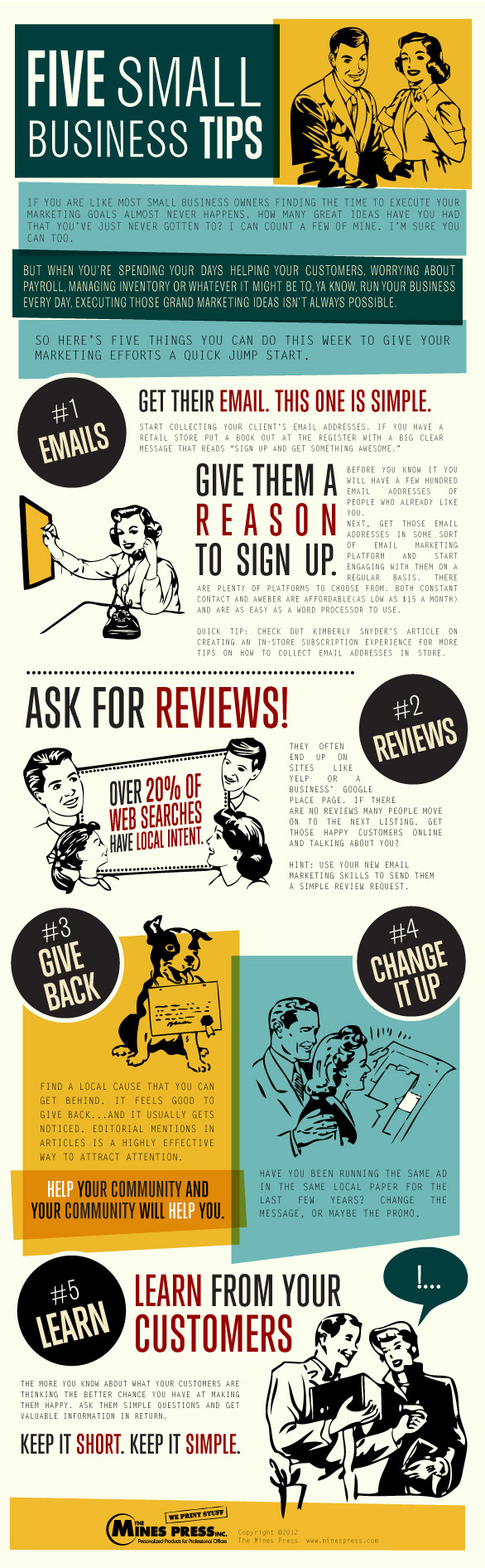 Small Business Marketing Tipss-infographic