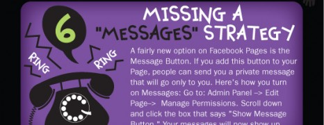 12 Facebook page mistakes