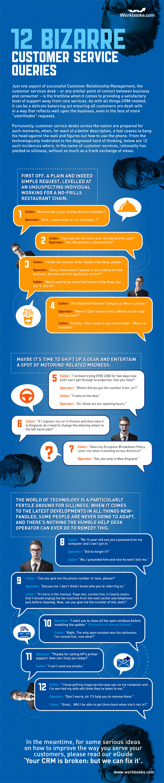 Weird Customer Queries-infographic