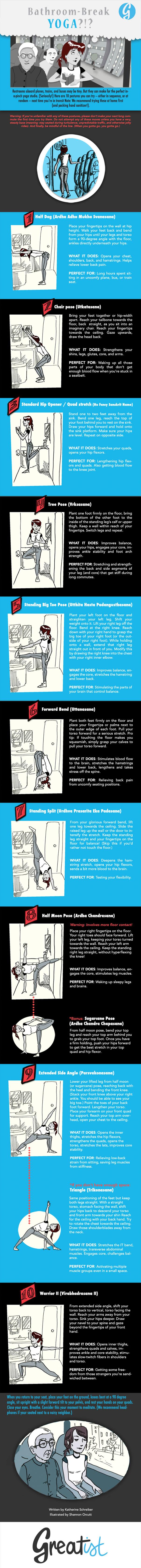 Yoga Break-infographic