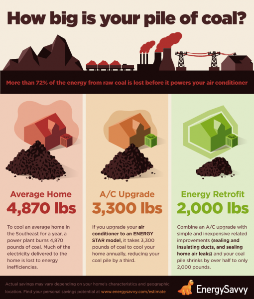 Reduce Coal Consumption-infographic