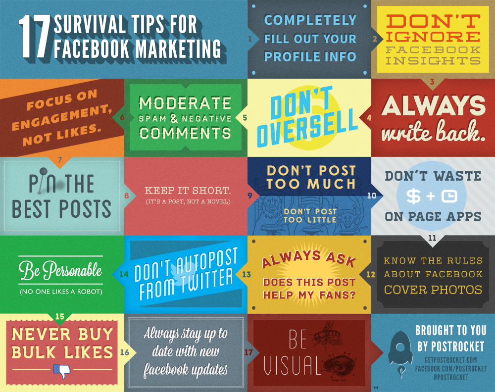 Facebook Marketing Tips 2012-Infographic