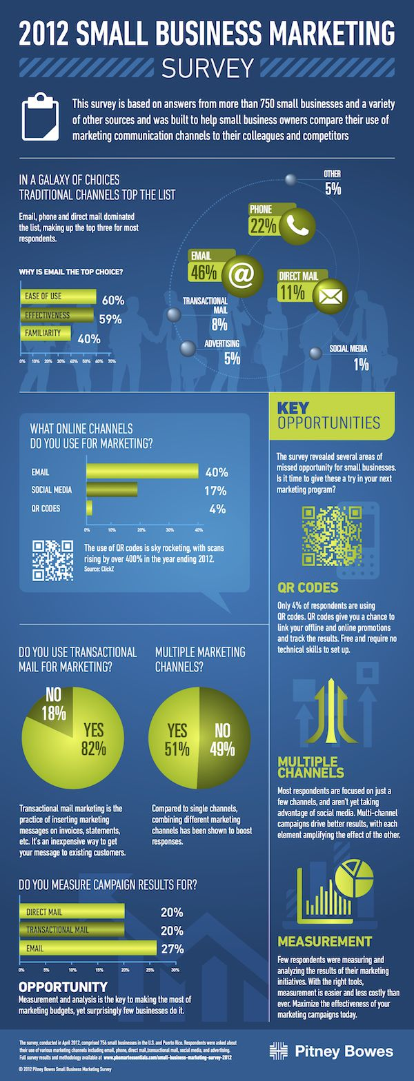 Small Business Marketing 2012-Infographic