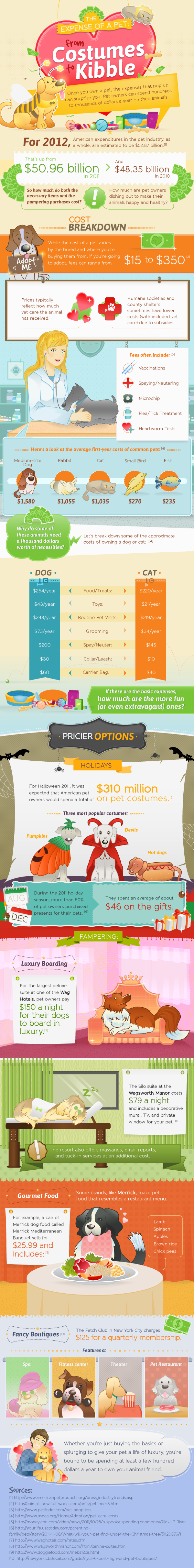 Pet Cost Estimator-Infographic