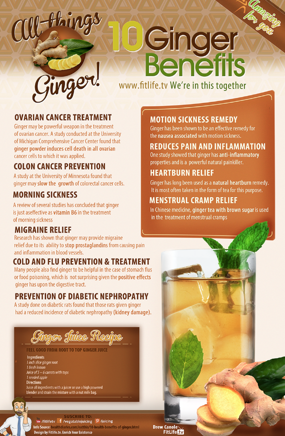Ginger-Benefits-Infographic
