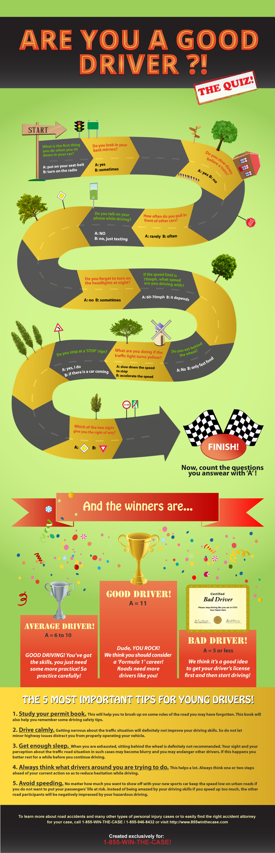Young Drivers Tips-Infographic