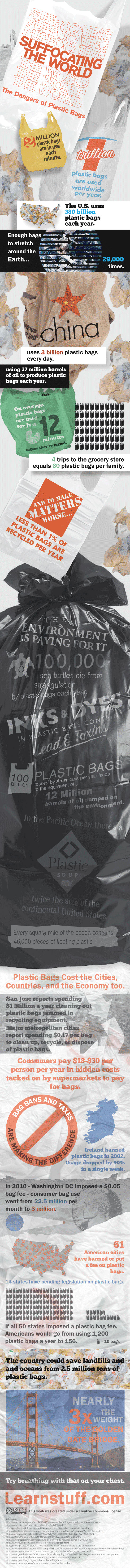 Plastic Bags Kill-Infographic