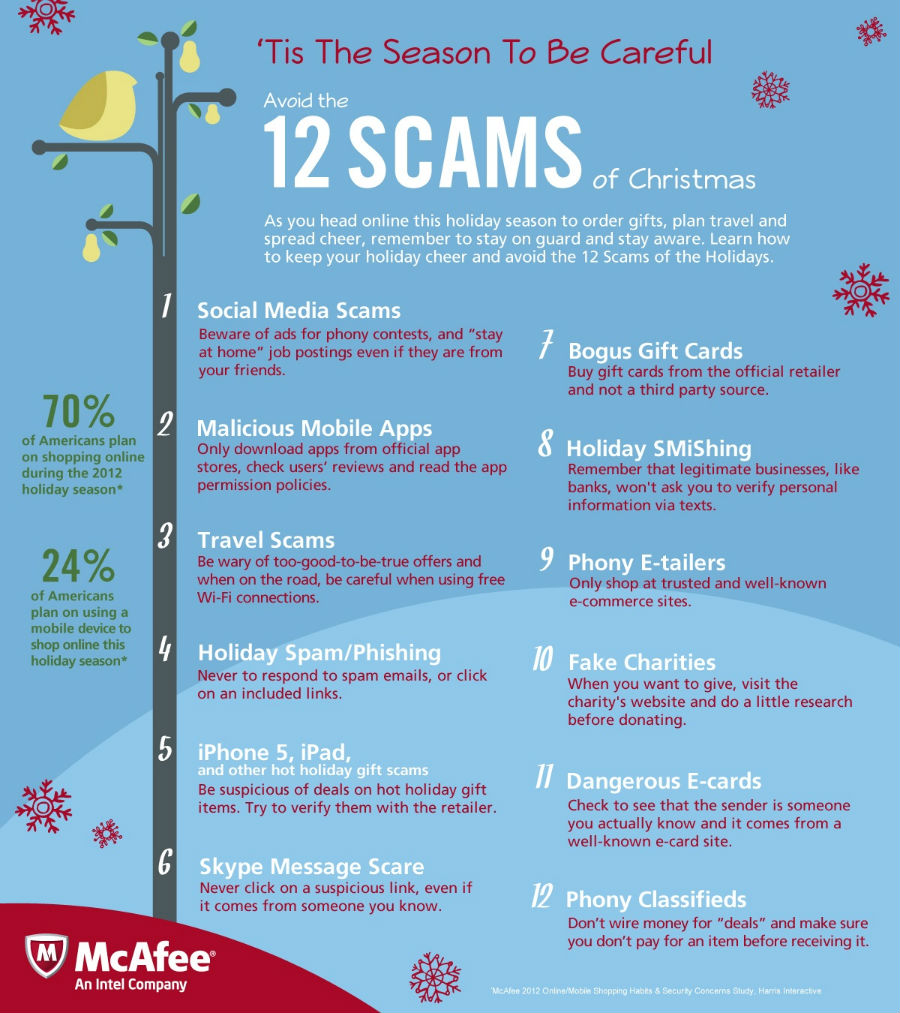 Christmas Scams-Infographic
