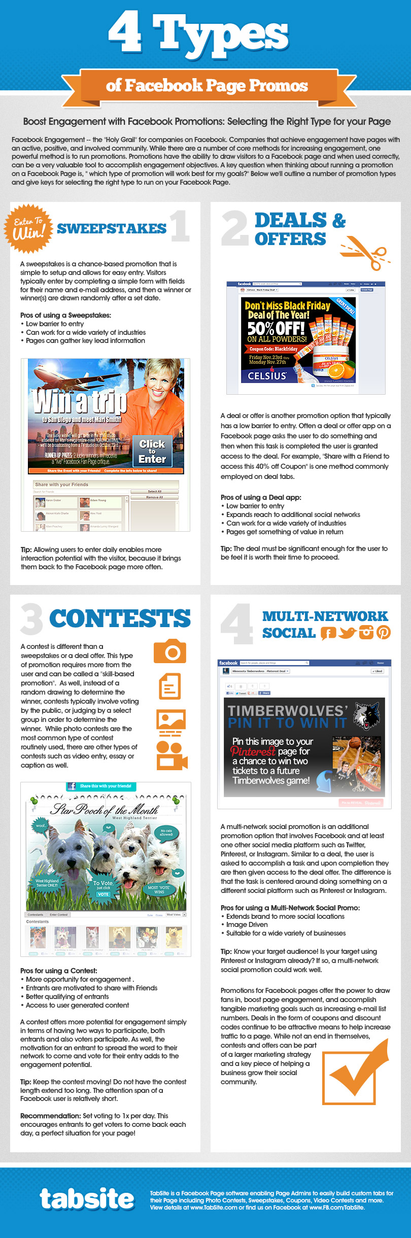 Facebook Page Promo Guide-Infographic