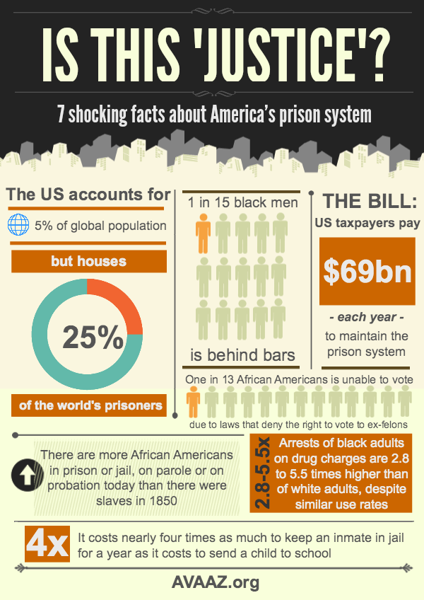 American Prison Paradox-Infographic