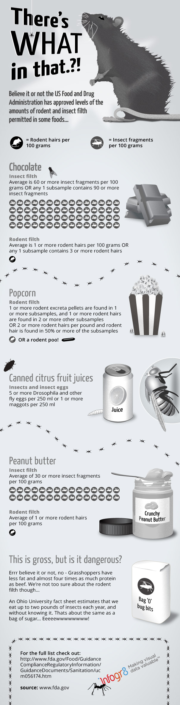 Filth in Food-Infographic