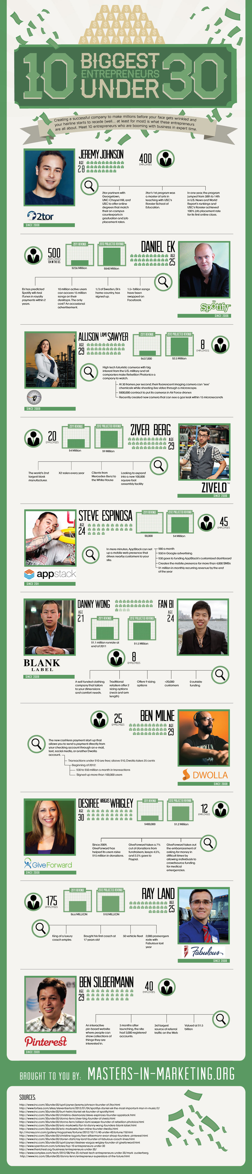 Young and Successful Entrepreneur-Infographic