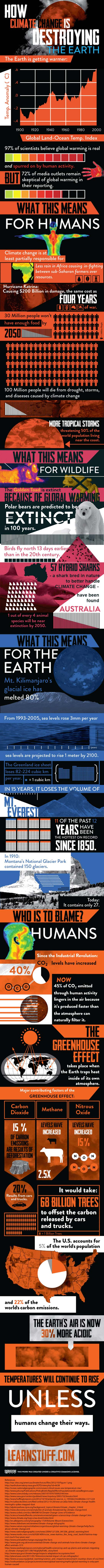 Climate Change Awareness-Infographic