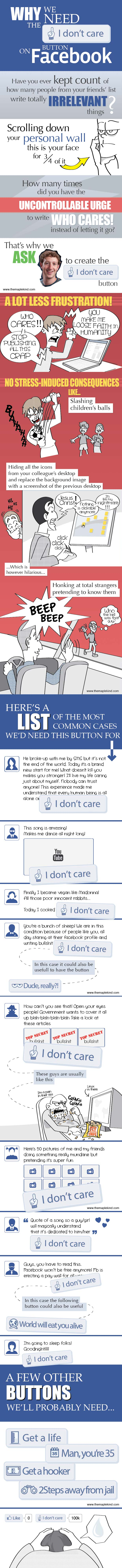 Facebook Button Ideas-Infographic