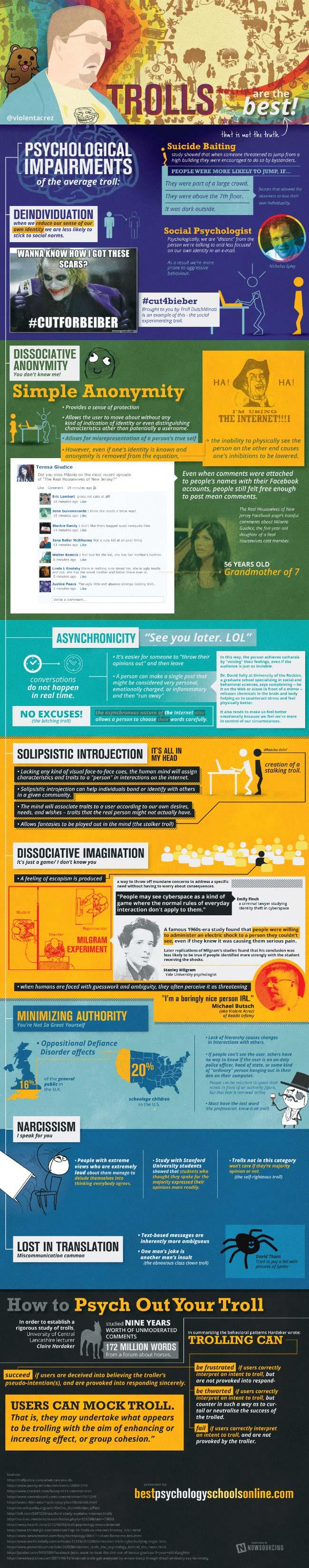 Profiling Internet Trolls-Infographic