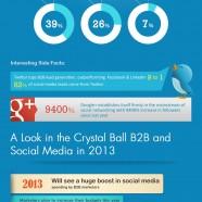 B2B Social Media Opportunities 2013