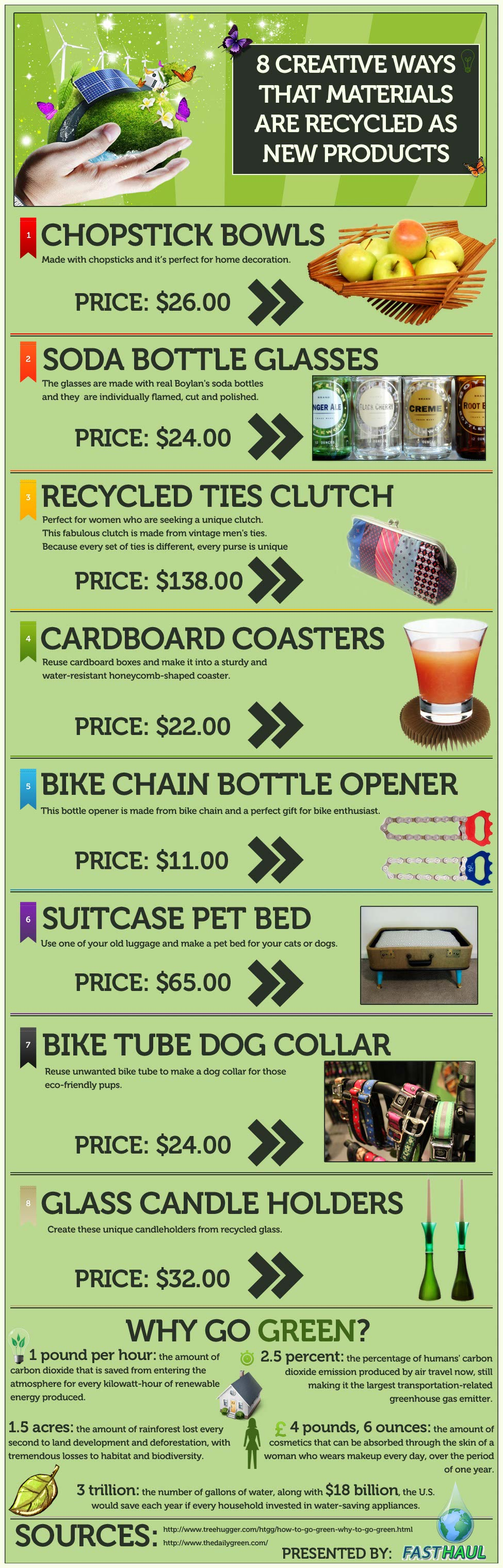 8 Upcycling Ideas-Infographic