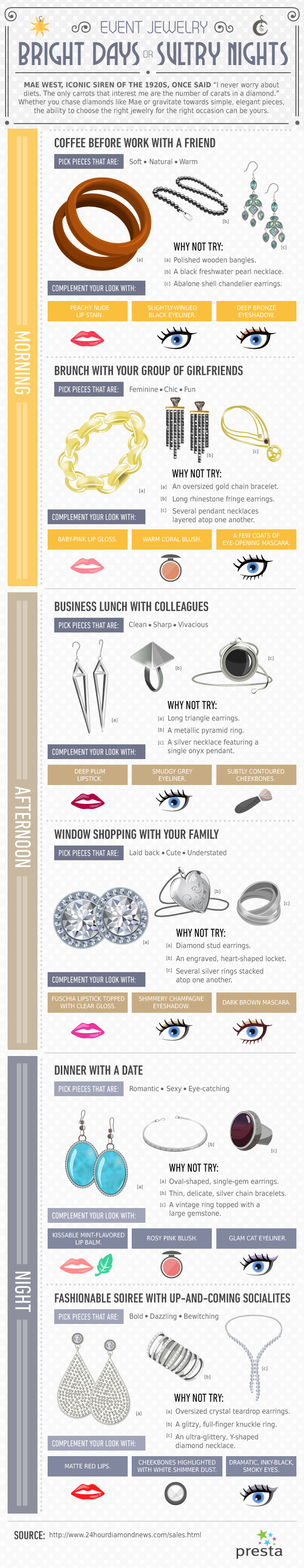 Jewelry Style Tips-Infographic