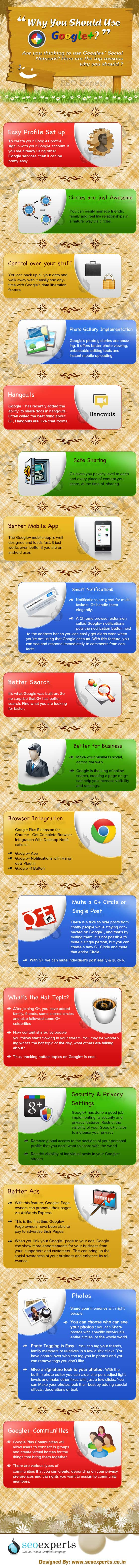 Why Google Plus-Infographic