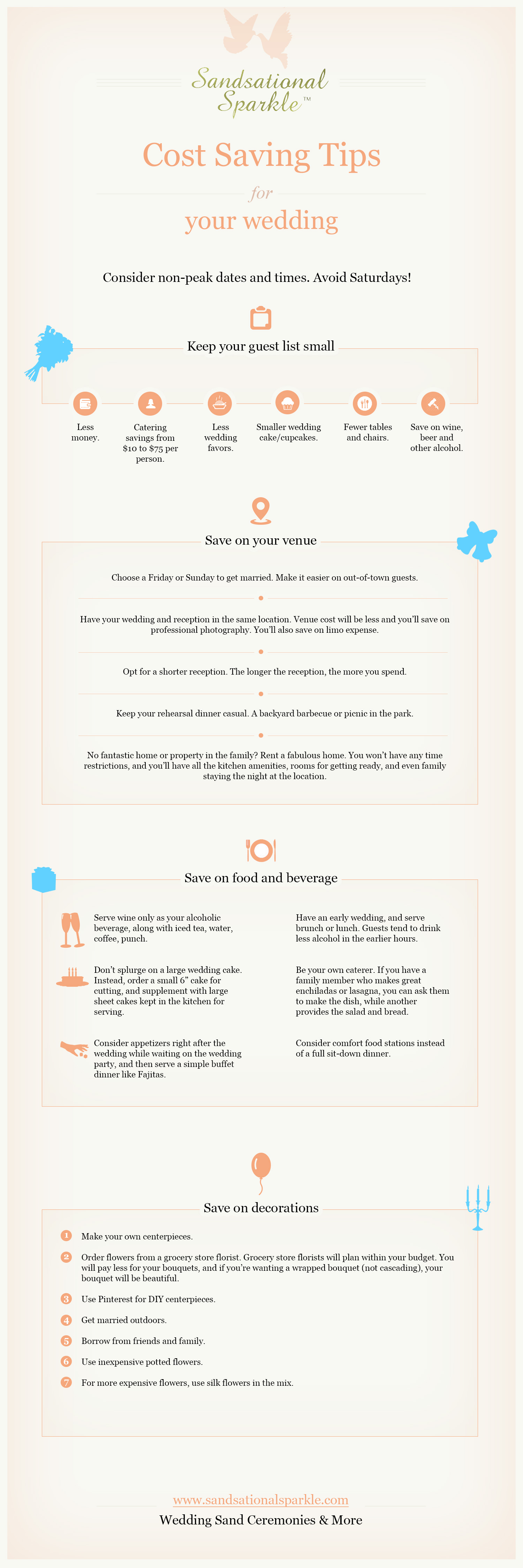 Save on Wedding Tips-Infographic