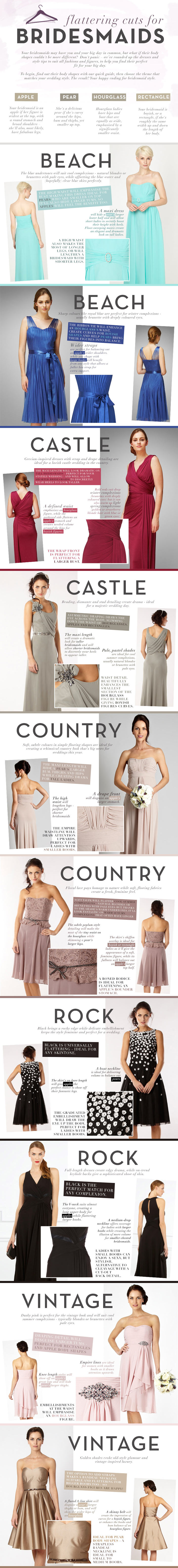 Bridesmaid Styling Tips-Infographic