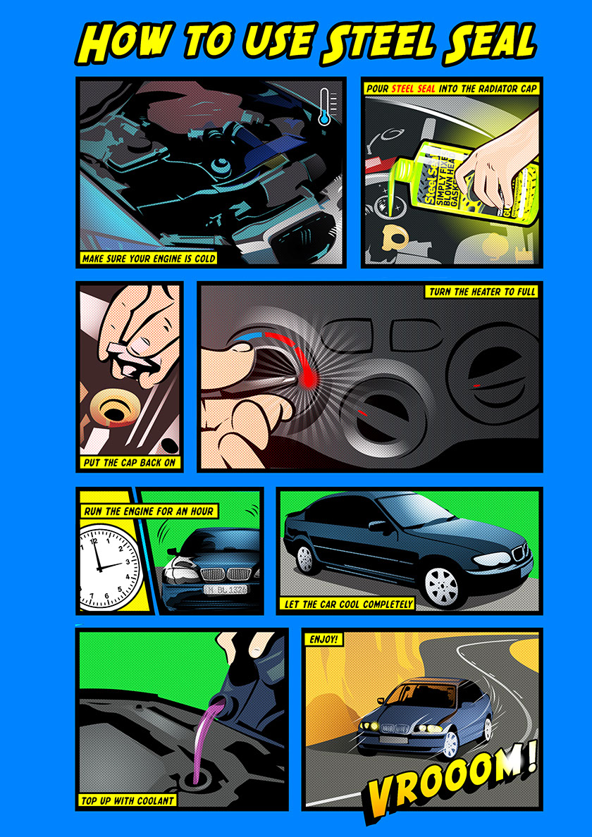 Head Gasket Repair Guide-Infographic