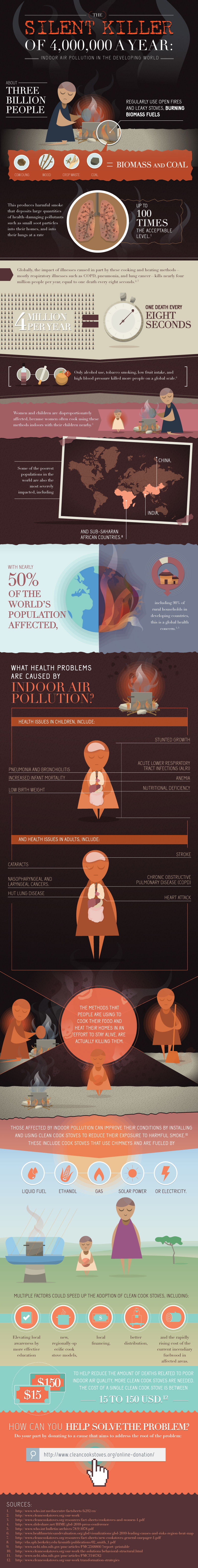 Indoor Air Pollution Facts-Infographic