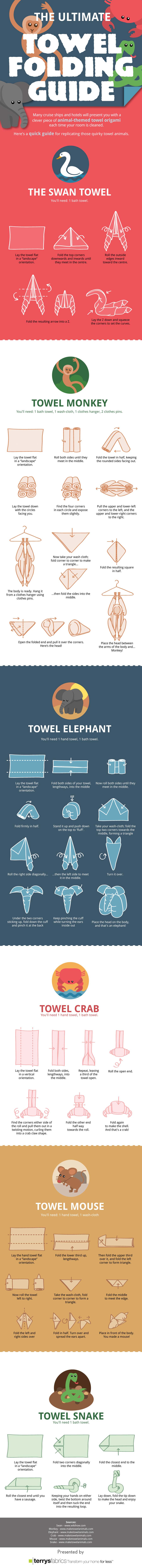 Towel Origami-Infographic