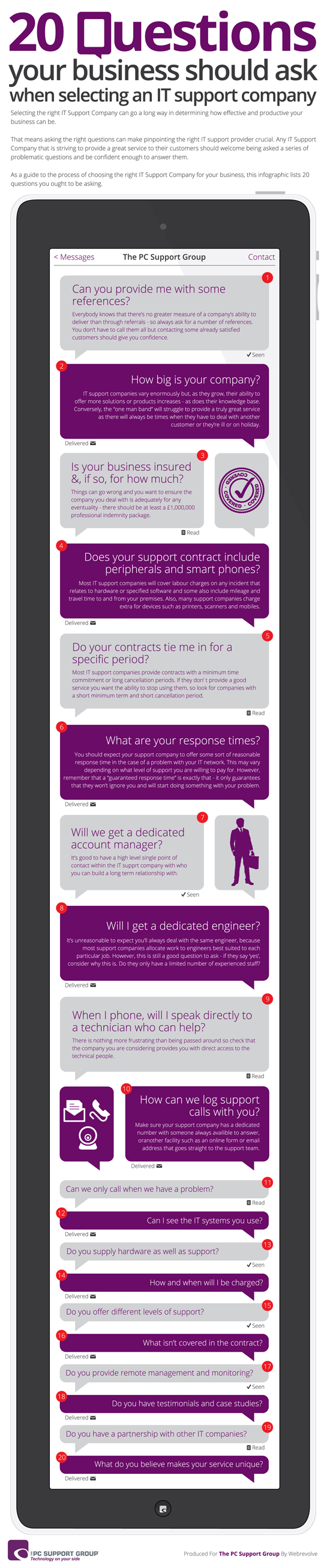 20-Questions-When-Selecting-An-It-Support-Company-Infographic