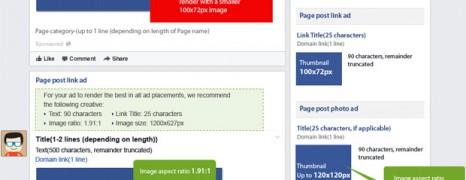 Facebook Ad Creative Sizes