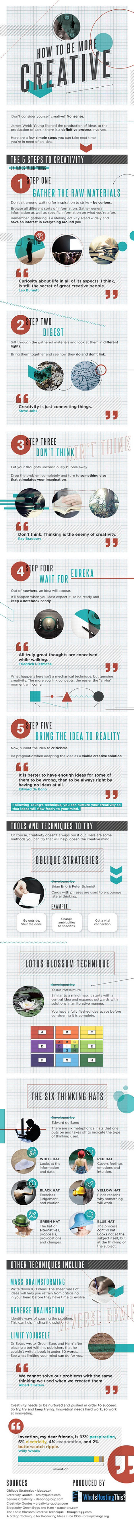 Boost Creativity-Infographic