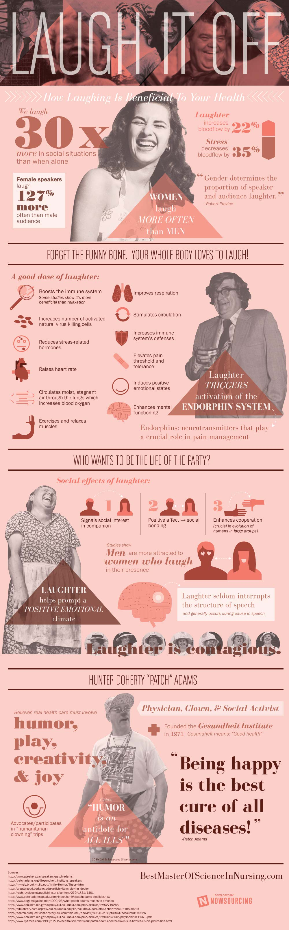 Laughter Does Good-Infographic