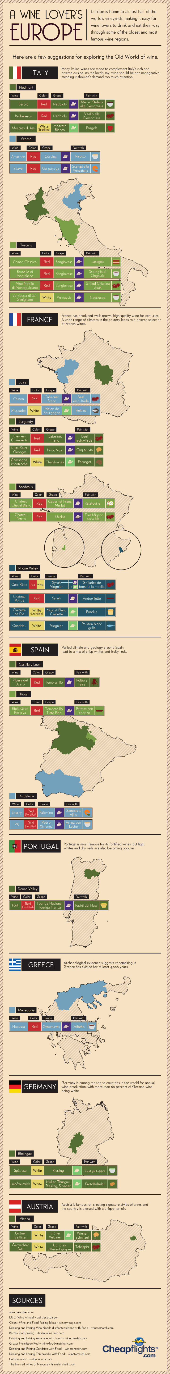 European Wine Guide-Infographic