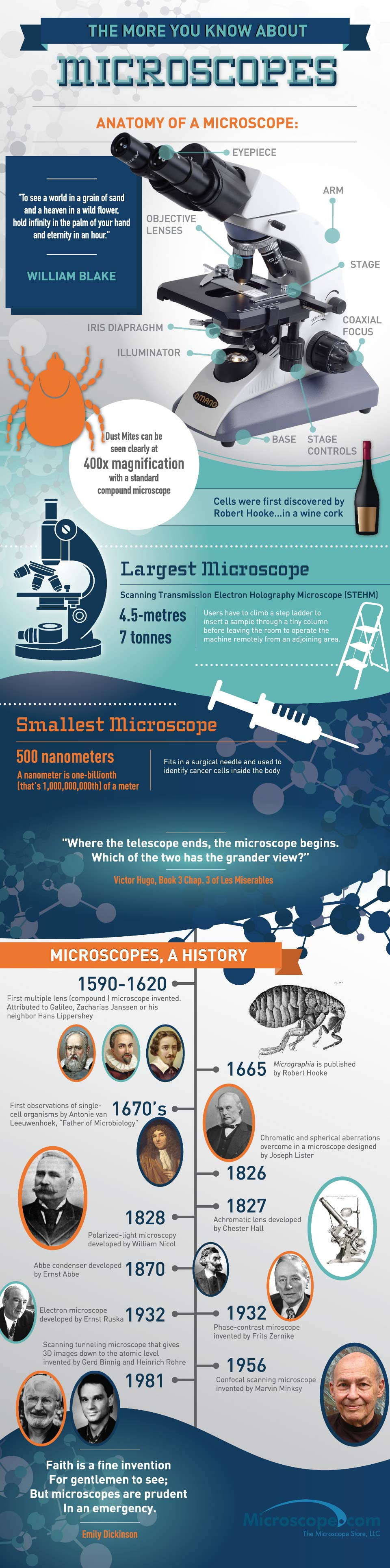 Microscopes 101-Infographic