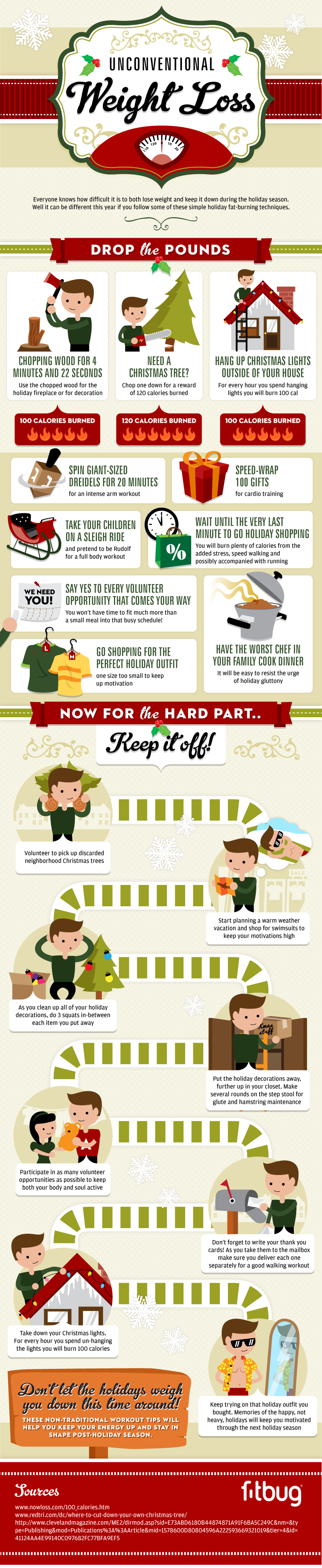 Losing Holiday Weight-Infographic